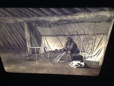 "Edward Curtis ""The Altar"" Arikara Native American photography 35mm slide"