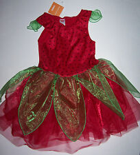 NWT GYMBOREE STRAWBERRY FAIRY COSTUME 10-12 GIRLS HALLOWEEN BERRY TUTU