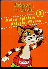 Pettersson und Findus--Malen,Spielen,Rätseln,Wissen--2-orange