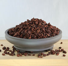 "2 Gal. 3/8"" Horticultural Red Lava For Succulent and Bonsai Tree Soil Mix."