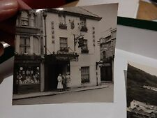 CROWN CIRENCESTER  OLD PHOTOGRAPH ORIGINAL VINTAGE ITEM B/W 9X8 cm approx
