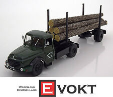 Norev Willeme LD610 Wood Transporter Green Model Car 1:43 Genuine New Best Gift