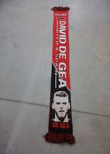 DAVID DE GEA MAN UNITED and SPAIN KNITTED SCARF