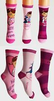 Disney Doc McStuffins Girls Toddlers Ankle Socks Age 2 3 4 6 7 8 9 NEW FREE P&P