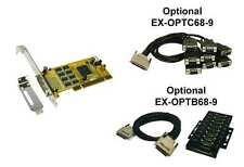 Exsys EX-41388WO - PCI I/O Mapa 8x Serial RS-232, SystemBase conjunto de chips
