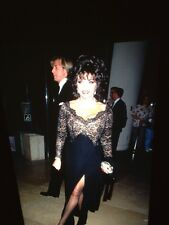 Joan Collins: Carousel Ball 1994 Promotional Celebrity 35mm Slide