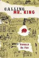 Calling Mr. King, De Feo, Ronald, 1590514750, Book, Very Good