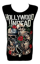 Hollywood Undead Day of the Dead Classic Rock Band Tank Top Vest T Shirt Size M