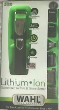 Wahl Trimmer & Shaver Lithium Ion All In One Groomer 17 Pieces 9854-600 NIB
