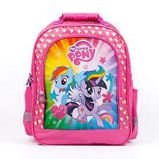 My Little Pony Backpack School Bag Gym Travel Shoulder Messenger MLP Girls Pink