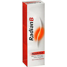 RADIAN B MUSCLE RUB - MULTI ACTION PAINKILLER EFFECTIVE RELIEF ACHES PAINS 40G
