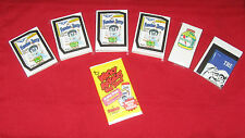 WACKY PACKAGES OLD SCHOOL 5 MASTER SET TAN / WHT / LUD / DIE CUT / TATTOO SETS