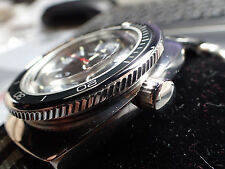 BOCTOK VOSTOK ST.STEEL THE.REDNECK.ONE CUSTOM  ROTATING BEZEL DW-03-P