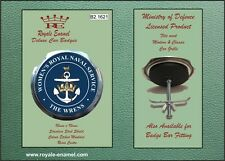 Royale Military Car Grill Badge THE WOMEN'S ROYAL NAVAL SERVICE WRENS - B2.1621