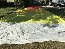 "Spinnaker Sail Fabric Very Good Condition Luff 29'6 Leech 29'6"" Foot 15'4"""