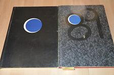 lot 2 livres l'Agenda de la nuit Castel 1988 et 1989 - publicités