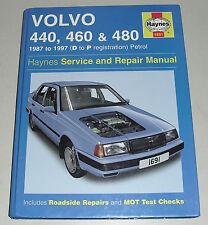 Reparaturanleitung Volvo 440 / 460 / 480 ,ab 1987-1997