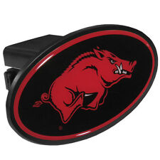 Arkansas Razorbacks Durable Plastic Oval Hitch Cover NCAA Licensed Football Tow