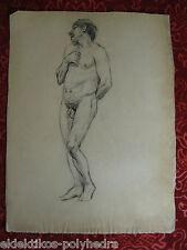 Mario Barbosa (1890  - ? ) / Étude académique - Study / Nu - Nude            #19