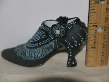 """Decorative Miniature Resin Shoe by Nostalgia If The Shoe Fits """"High Society"""" 5"""""""