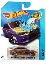 2014 Hot Wheels Color Shifters City #19 2008 Mitsubishi Lancer Evolution X