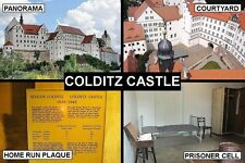 SOUVENIR FRIDGE MAGNET of COLDITZ CASTLE GERMANY