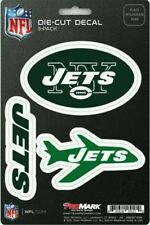 New NFL New York Jets Team ProMark Die-Cut Decal Stickers 3-Pack