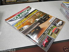 Classic & Sports Car Magazine N° 19 2014 BULLIT MUSTANG CONTRE CHARGER ferrari *
