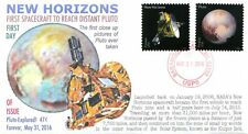 """COVERSCAPE computer generated """"Pluto Explored"""" stamp issue 2016"""" cover"""