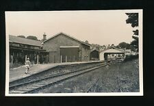 Devon ASHBURTON Railway Station 1968 Plain back photo produced for reopening