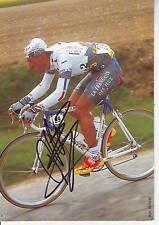 CYCLISME carte cycliste DAMIEN NAZON équipe LA FRANCAISE DES JEUX 1997 signée