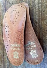LEATHER Quality PEDAG 3/4 Length FOOT SUPPORT Insoles SIZE Womens 9 US