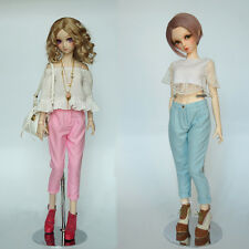 New Pink/Blue Fashion Sweet Haroun Pants For 1/3 SD DD BJD Doll Clothes/Outfit