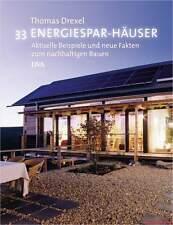 Fachbuch 33 Energiespar-Häuser, Beispiele und Fakten, REDUZIERT statt 49,95€ NEU