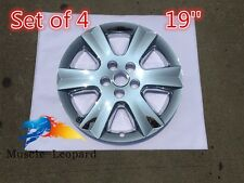 "4pcs CHROME Dodge Journey 19"" Wheel Skins Hub Caps wheel Cover 2009-2016 replace"