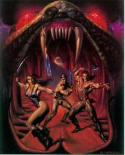 Boris Vallejo Postercard: Swords and Serpents (USA, 1992)