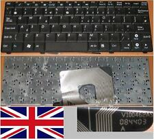 Teclado Qwerty UK ASUS EEEPC EEE PC 900HA 900 HA MP-08F43US-5282 V100462AS Negro
