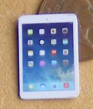 1:12th bianco non funzionante Dolls House Apple iPad Tablet Android Ufficio Accessorio
