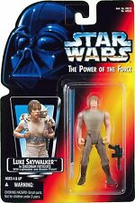 Star Wars Luke Skywalker in Dagobah Fatigues The Power Force action figure NIB