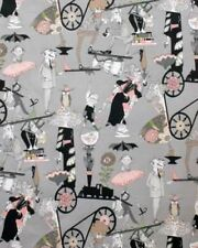 Alexander Henry - Just Ghastly - Ghastlie End 7980E Smoke BTY Cotton Fabric