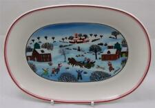 Villeroy & and Boch NAIF CHRISTMAS LAPLAU - NEW pickle / nuts / snack dish 20cm