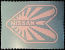 Blanco Nissan Wakaba Jdm Sticker Decal Cubo horizonte 350z Juke Micra 200sx Primera