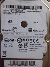 500 GB Seagate ST500LM012 HN-M500MBB /Z4 / 01.2012 / PCB: M8_REV.03 #43-50