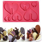 3D Heart Silicone Cake Mold Candy Fondant Chocolate Mould DIY Baking Tool Decor