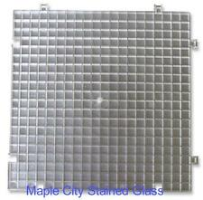 4 Pack Waffle Grid for cutting stained glass - grinding