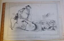 Antique Lithograph John Bull JB