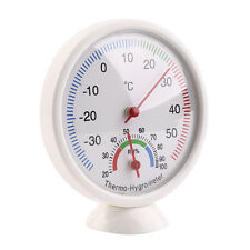 Indoor Analog Hygrometer Thermometer Temperature Meter Humidity Gauge Monitor