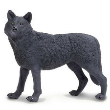 Black Wolf Wildlife Wonders Figure Safari Ltd NEW Toys Educational Figurines