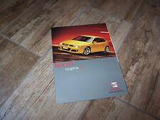 Prospectus  /  Brochure SEAT Leon Cupra R 2001  //