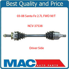 CV Shaft Complete Assembly Axle for 2003-2008 Hyundai Santa Fe 2.7L FWD M/T D/S